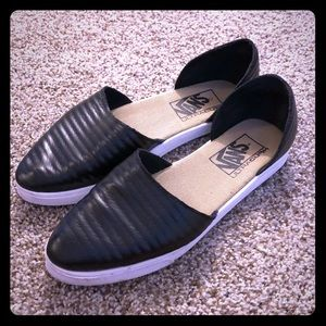 Vans Black Flat Shoes